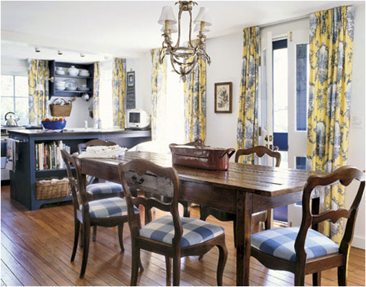 country dining room design ideas - Country Dining Room Design