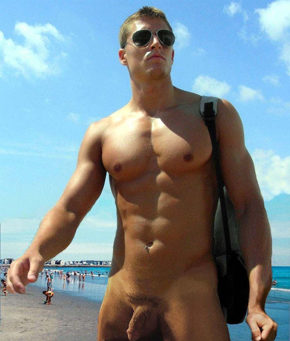 Nude men spanish beach