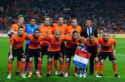 Daftar Squad Belanda untuk EURO 2012
