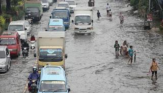 Titik-Titk Banjir Jakarta 13 Januari 2014