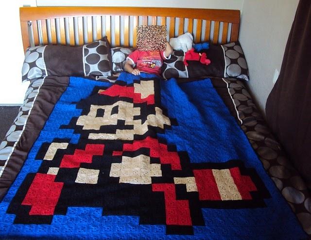 damn it Janet, let's crochet!: Granny Square Raccoon Mario ...