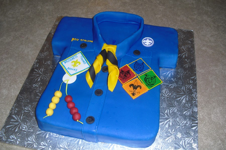 Sugar Cookies Cakes And More Cub Scout Birthday