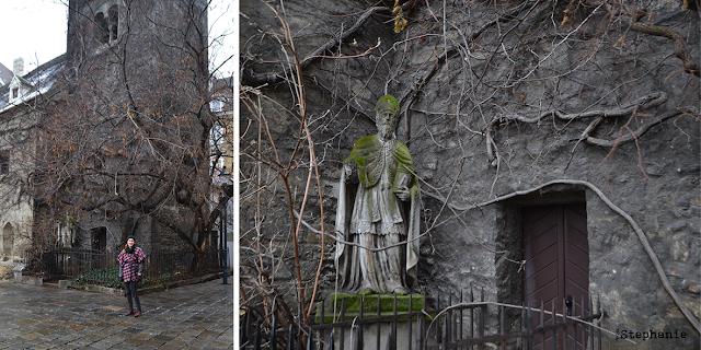 MeMadeMittwoch | Ruprechtskirche & Poncho | vonStephanie