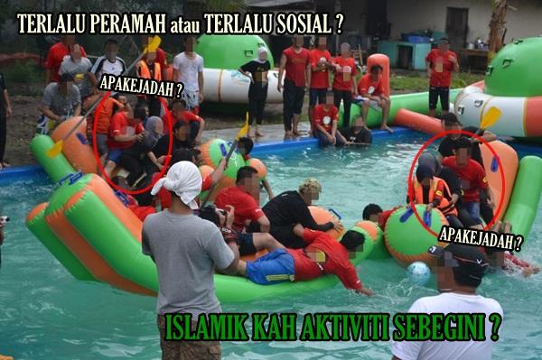 Sukaneka Air Bersama Bukan Cara Erat Silaturahim Sesama Member Satu ...
