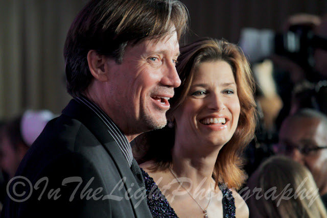 Celebrity Fight Night 2013 Red Carpet Kevin Sorbo Sam Sorbo