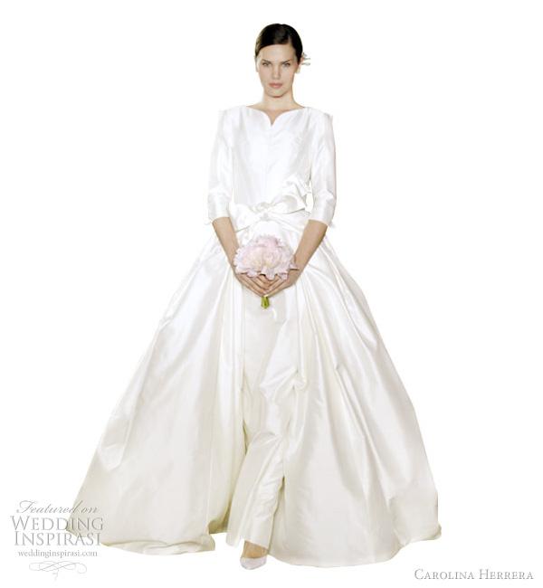 Jesu Peiro Bridal 2011 Image Wedding Inspirasi Carolina Herrera 2012
