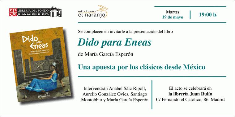 DIDO PARA ENEAS. Una apuesta por los clásicos desde México en Madrid