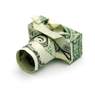 origami o  papiroflexia con billetes de dólar