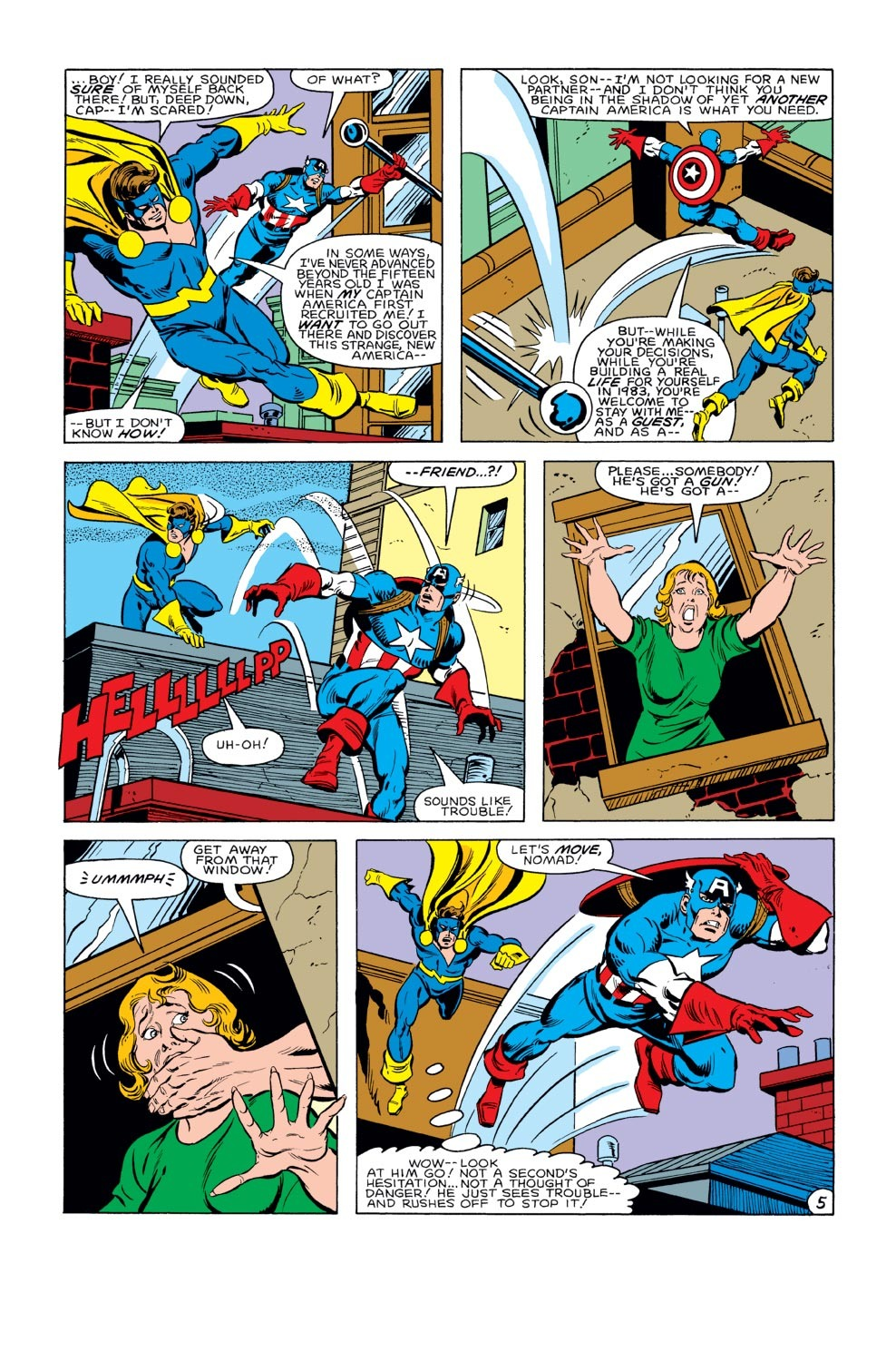 Captain America (1968) Issue #284 #200 - English 6