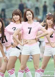 Im Yoona Korean Cute Girl Singer Sexy Photo at Namyangju Central Football Game 8