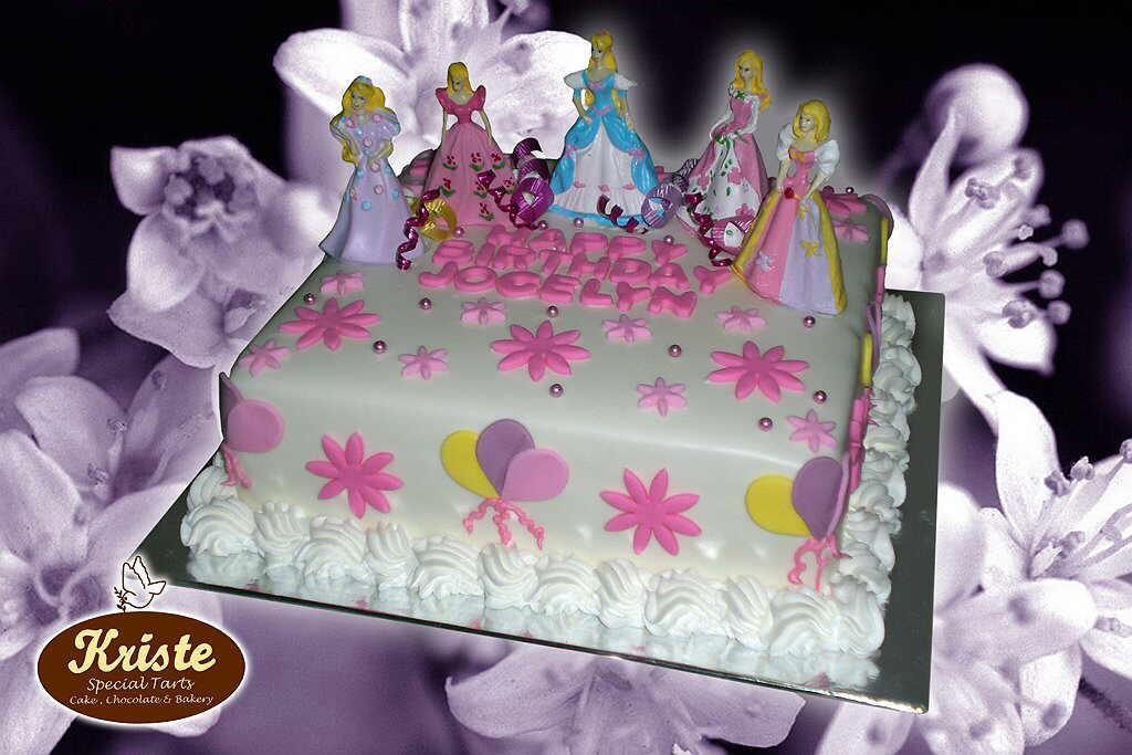 Kue Tart Ulang Tahun Anak (Perempuan) ~ Kriste Bakery & Cake