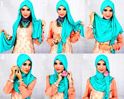 Cara Memakai Hijab Modern Untuk Remaja
