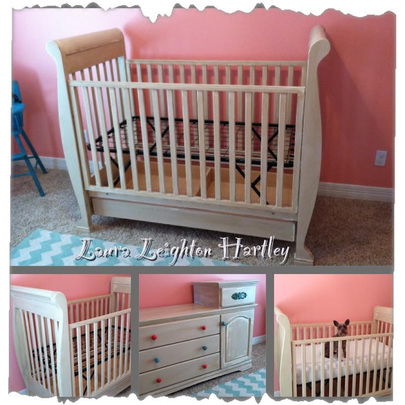 Baby Laura Leighton's nursery Starring Bella! title=
