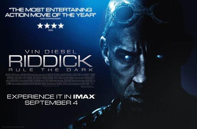Riddick Quad Poster