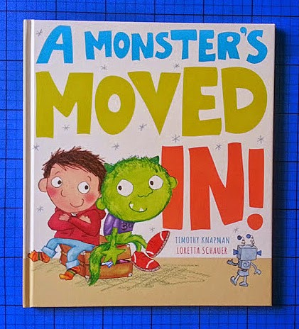A Monster's Moved In! by Timothy Knapman children's book review age 3-7