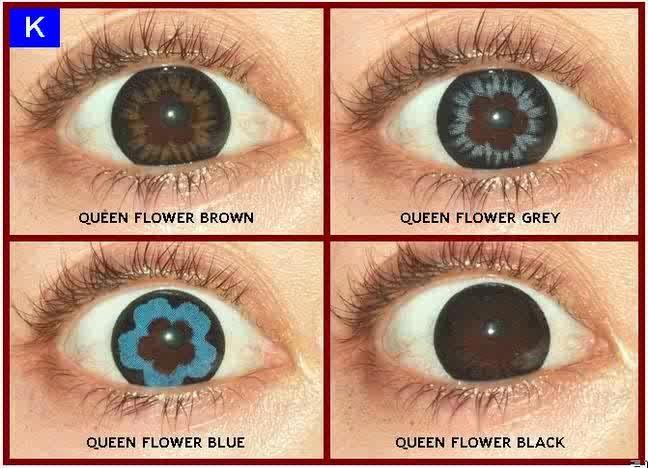 jual grosir softlens aquas queen flower murah