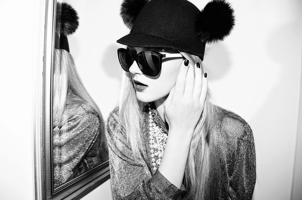 fancy, manners, blog, blogger, fashion, bear, hat, sunglasses, chanel, pearl, accessories, styling, overdressed, fur, wool blend, faux fur, inspiration