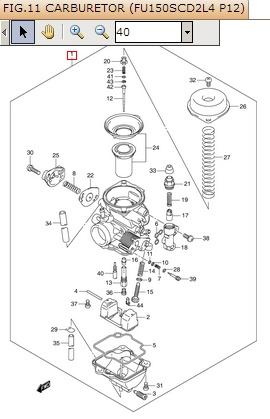 Muffler alias knalpot Suzuki Satria FU 150 ada 2 kode , next Suzuki Satria FU 150 kah ? tapi masih karburator ?