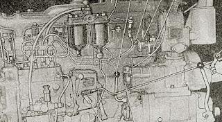 Органы управления двигателем ХТЗТ-74