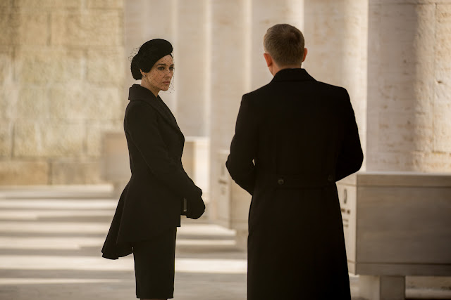 Monica Bellucci and Daniel Craig in Metro-Goldwyn-Mayer Pictures/Columbia Pictures/EON Productions' action adventure SPECTRE.