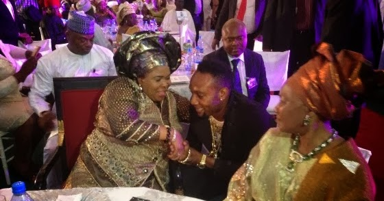 KCEE SPOTTED WITH THE FIRST LADY IN ASSO VILLA SEE PHOTOS