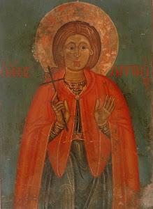 Ο Άγιος Λαμπριανός του Κύπριου ζωγράφου Παρθένιου. 18 αιώνας