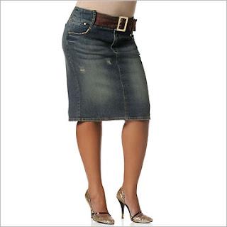Corduroy Denim Skirts Fashion