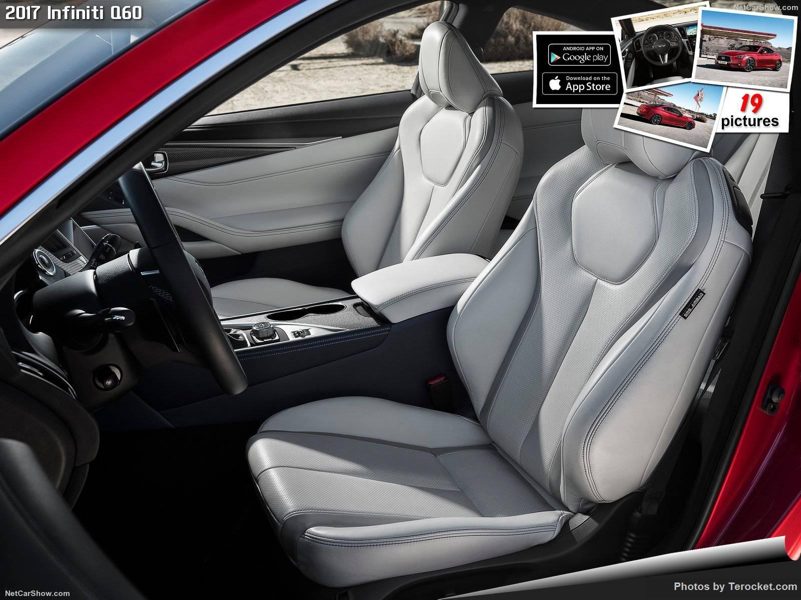 Hình ảnh xe ô tô Infiniti Q60 2017 & nội ngoại thất