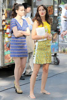 Leighton Meester in NYC