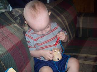 My toddler loves Sew 'N' Sew!