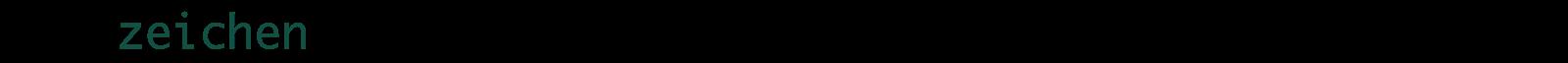 latzzeichen