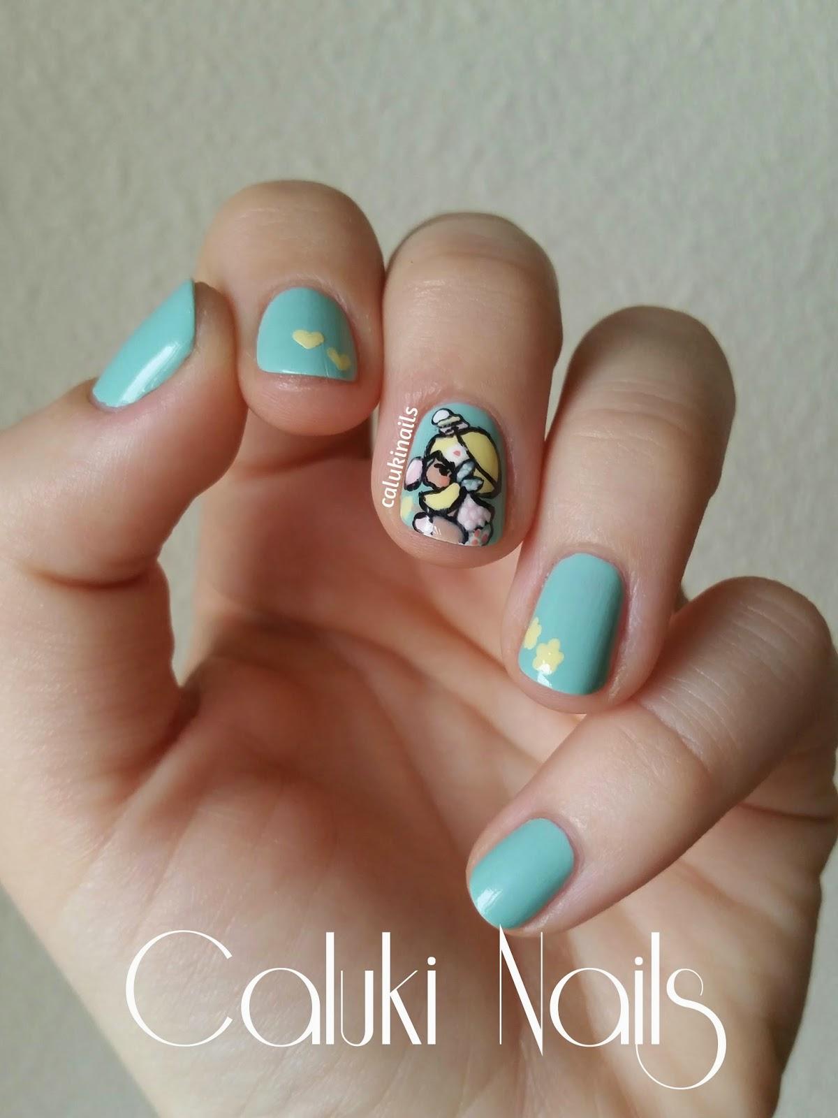 Caluki nails nail art chic kawaii - Nail art chic ...