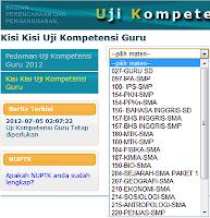 Download Kisi-Kisi UKG Semua Mapel Terlengkap dari situs Resmi