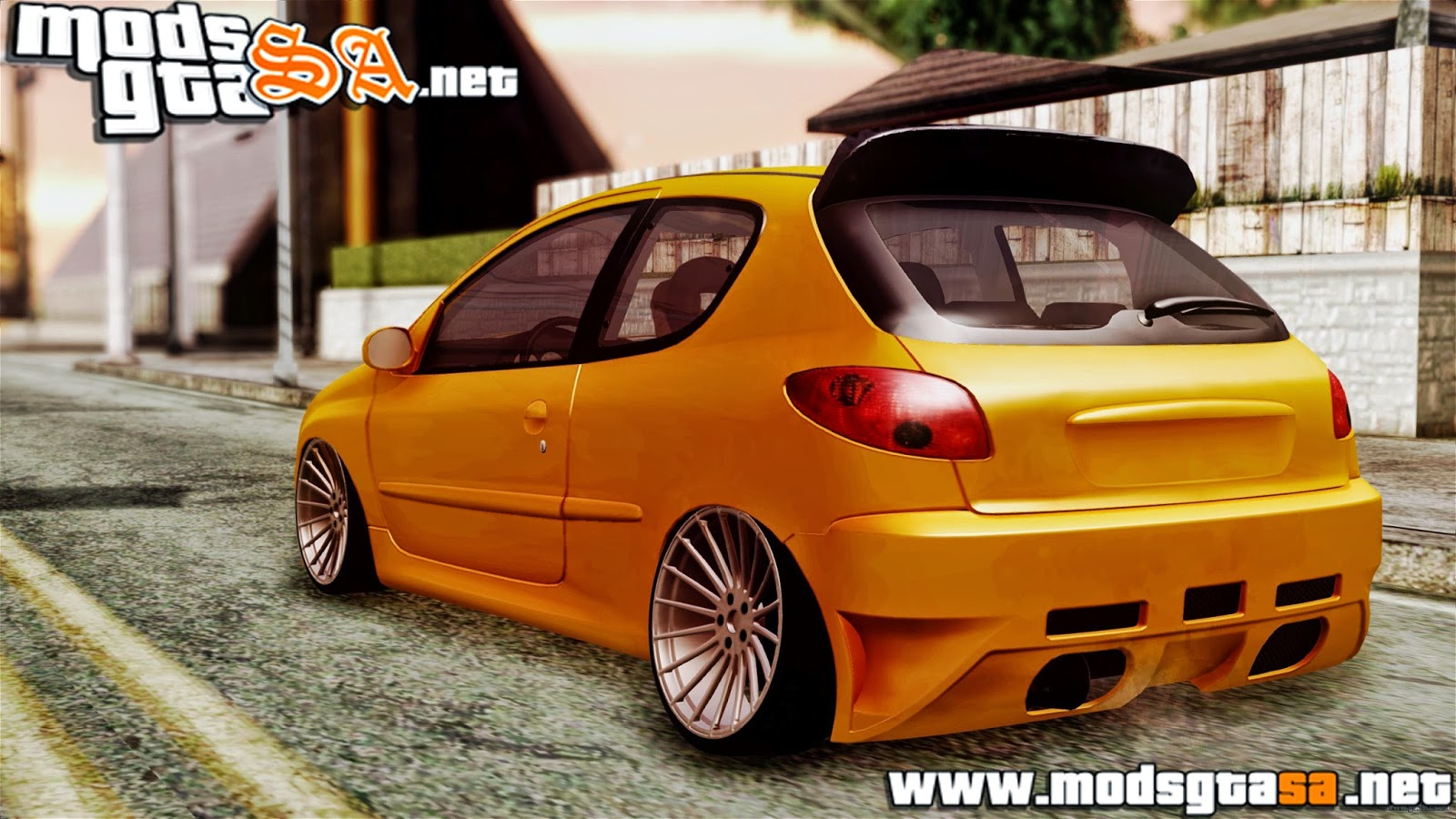 SA - Peugeot 206 Camber Style
