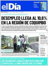 30/05/2020    CHILE  UNA  PRIMERA PÁGINA DE LA PRENSA