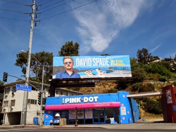 David Spade My Fake Problems billboard
