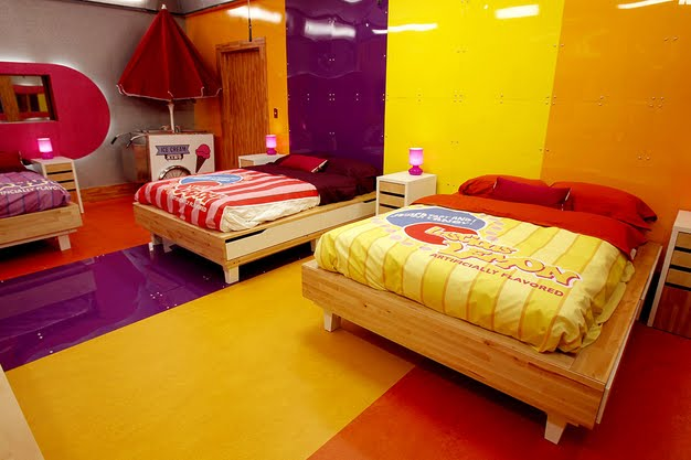 The tv show must go on a look inside the big brother for Inside 4 bedroom house