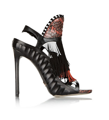 Daniele Michetti Fringe high heels