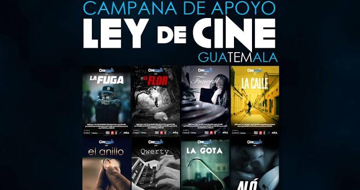 """Lanzan campaña de apoyo a la """"Ley de cine de Guatemala"""""""