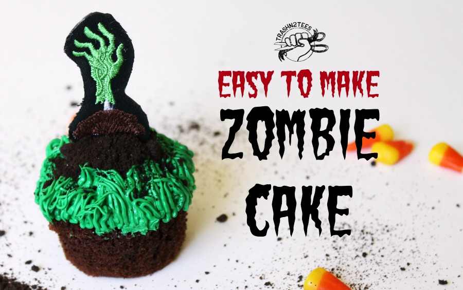Easy To Make Zombie Cake
