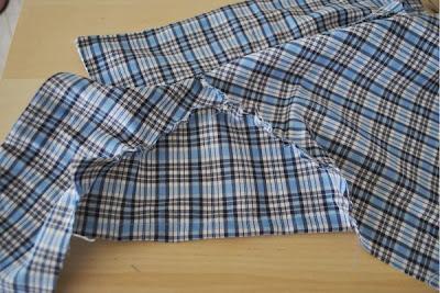 coser manga camisa perro