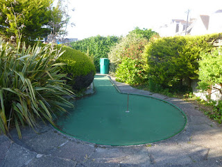 Gilmores Golf miniature golf course in Newquay, Cornwall