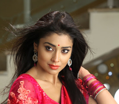 Glorious and elegant Shriya saran in ethnic designer saree collection