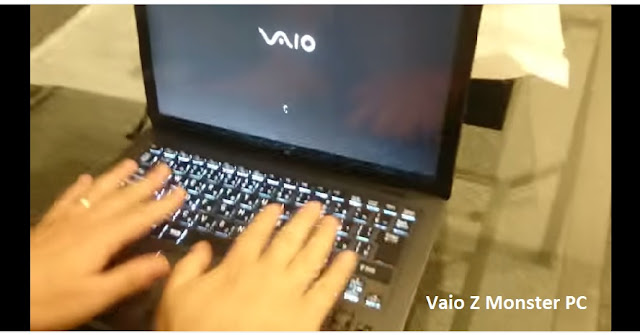 Vaio Z laptop