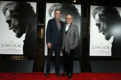 Lincoln screening, Steven Spielberg, Daniel Day Lewis