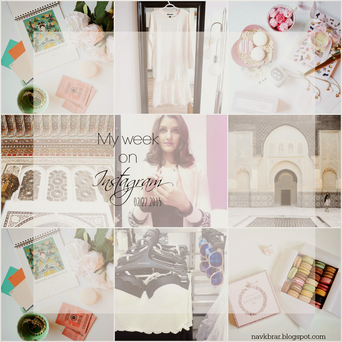 MY WEEKLY RECAP OF INSTAGRAM @NAVKBRARBLOG