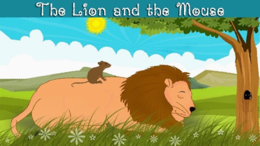 the lion and the mouse fabel story