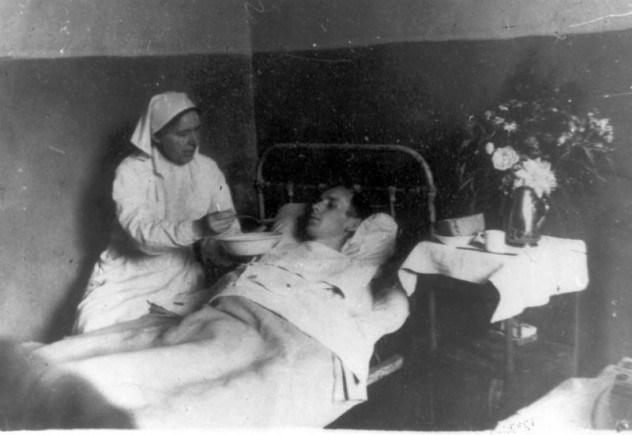 Школа 3, во время войны - эвакогоспиталь