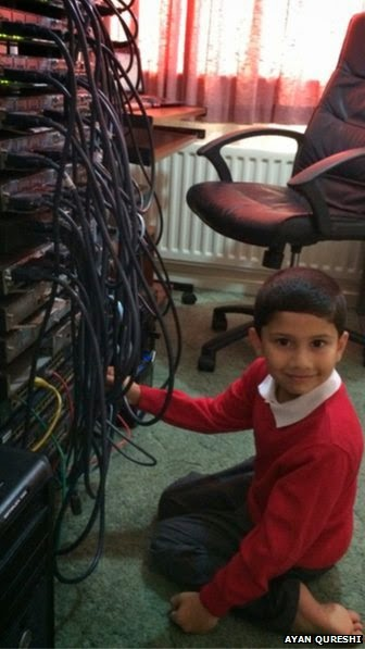 Niño de 5 años titulado por Microsoft