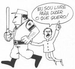 PELA LIBERDADE DE EXPRESSÃO